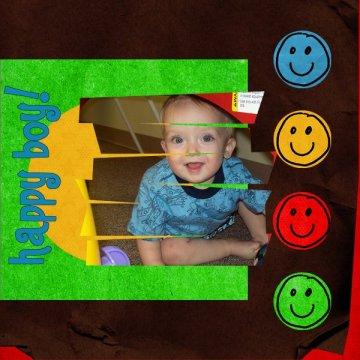 Happy Boy- my little cutie!