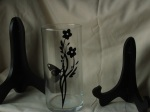 Butterfly and Flower Vase